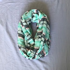 Cute infinity scarf perfect for spring